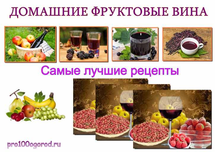 приготовление фруктовых вин