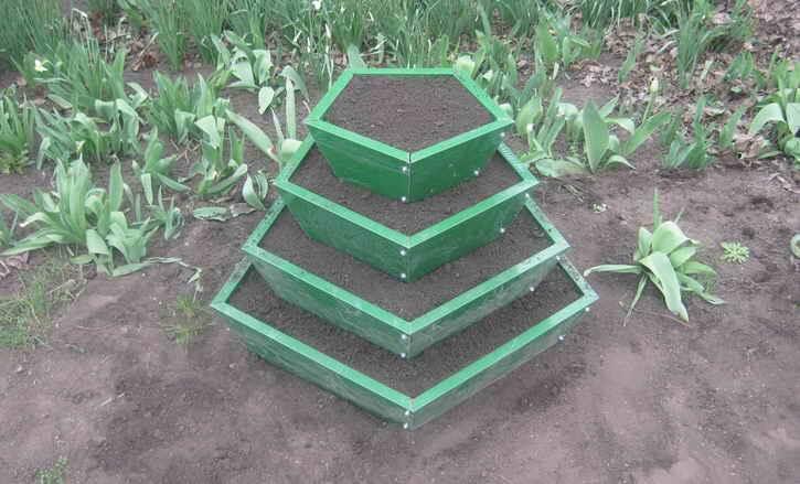 пирамида под овощи