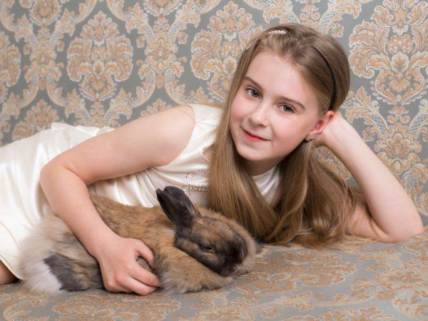 Аллергия на кроликов у ребенка