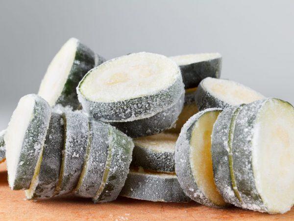 Способы заморозки кабачков на зиму