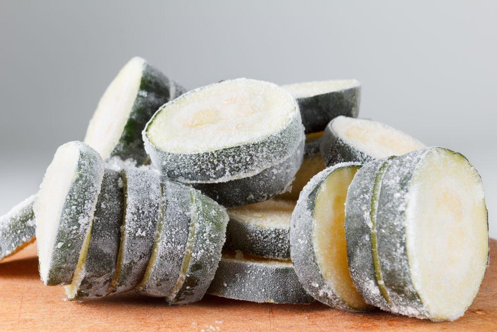 Замораживают ли кабачки в морозилке