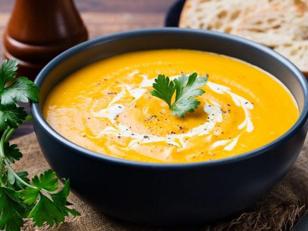 Из тыквы получается вкусный суп