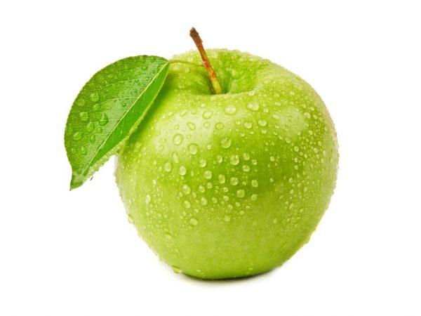 Правила употребления зеленых яблок