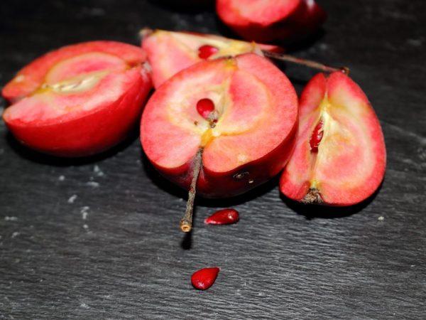 Плоды имеют приятный аромат